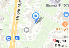 Компания «Территориальная избирательная комиссия района Москворечье-Сабурово» на карте