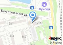 Компания «Бирюлёво» на карте