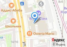 Компания «WEB-ЛИДЕР» на карте