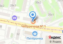 Компания «Чебуречная №1» на карте