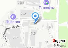Компания «Московская» на карте