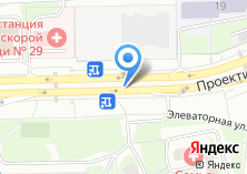 Компания «Автостоянка на Элеваторной» на карте