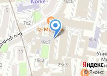 Компания «Мое дело» на карте