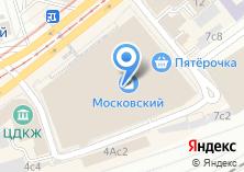 Компания «Три вокзала» на карте