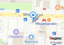 Компания «Храм-часовня иконы Пресвятой Богородицы в Медведково» на карте