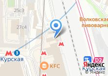 Компания «Линейное управление МВД России на станции Москва-Курская» на карте