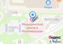 Компания «В Коломенском» на карте