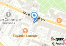 Компания «Автомойка на Таганской» на карте