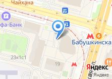Компания «Мясной магазин на Бабушкинской» на карте