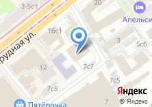 Компания «Московская железная дорога» на карте