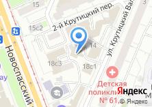 Компания «Линктурс Рус» на карте