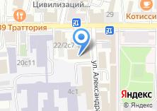 Компания «Государственный академический русский хор им. А.В. Свешникова» на карте