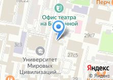 Компания «Городской центр жилищных субсидий Центральный административный округ» на карте