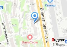 Компания «Дент-Ф» на карте