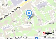 Компания «ARTIST HOSTEL НА КУРСКОЙ - Хостел» на карте