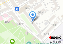 Компания «Такелажники» на карте