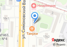 Компания «2 шага» на карте