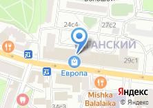 Компания «Апико» на карте