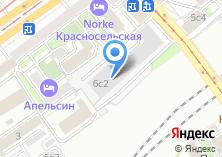 Компания «Ремонт окон Красносельская» на карте