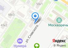 Компания «МВК» на карте