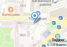 Компания «Магазин фастфудной продукции на ул. Новая Басманная» на карте