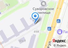 Компания «Бест-Шина» на карте