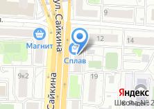 Компания «Кухни ЗОВ» на карте