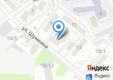 Компания «Технопроект» на карте