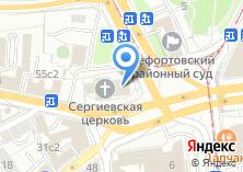 Компания «Храм Преподобного Сергия Радонежского в Рогожской Слободе» на карте