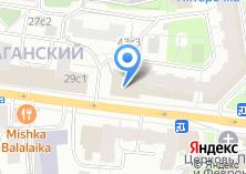 Компания «Трискеле» на карте