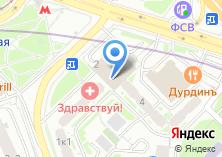Компания «Интрейд» на карте