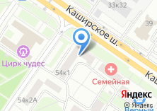 Компания «Почтовое отделение №115409» на карте
