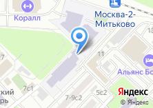 Компания «Средняя общеобразовательная школа №1305» на карте