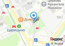 Компания «Метроинжреконструкция» на карте