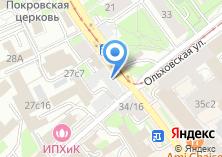 Компания «Магазин фруктов и овощей на Нижней Красносельской» на карте