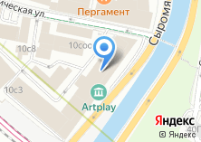 Компания «Artplay» на карте