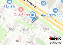 Компания «Участковый пункт полиции район Москворечье-Сабурово» на карте