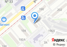 Компания «Баженовский» на карте