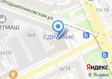 Компания «Технопромэкс» на карте