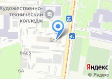 Компания «Ветеран-38» на карте