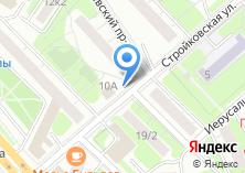 Компания «Данвеста» на карте