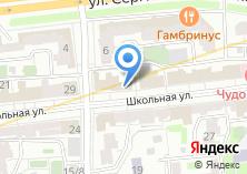 Компания «Dveriokna» на карте
