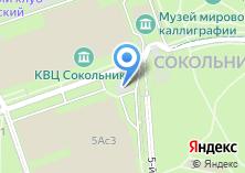 Компания «Серебряный Дождь Сокольники» на карте
