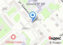 Компания «Строящийся жилой дом по ул. Баженова» на карте