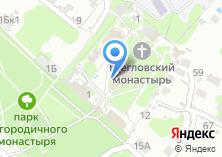 Компания «Свято-Богородичный Щегловский мужской монастырь» на карте