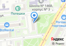 Компания «Печати в Москве» на карте
