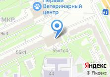 Компания «Почтовое отделение №115372» на карте