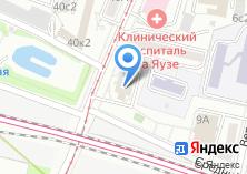 Компания «Участковый пункт полиции район Лефортово» на карте