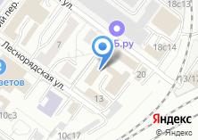 Компания «Управление на транспорте МВД России по Центральному федеральному округу» на карте