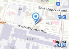 Компания «Московские переезды» на карте